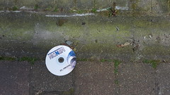 Alley CD (Jacob Whittaker) Tags: aberteifi lost found discarded thrown