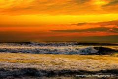 Sienna Sunrise (T i s d a l e) Tags: tisdale siennasunrise atlanticocean dawn southernshores outerbanks summer september 2016 easternnc