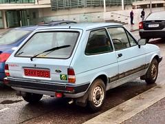 1984 Ford Fiesta L (Ross.K) Tags: blue l fiesta ford 1984 84kk8003