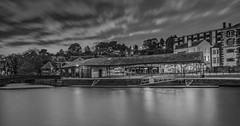 Exeter Quay at night (the tamron tog) Tags: exeter 1635f28 blue hour quay longexposure water canon raw mono