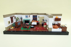 Mr. Bean´s Home (-Balbo-) Tags: lego moc mr bean bauwerk creation teddy turkey balbo