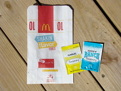 McDonald's Shakin' Flavor Fries (dankeck) Tags: fastfood 2015 testmarket ohio mcnuggets frenchfries product limitedtime