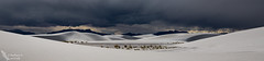White Sands Drama (Squirrel Girl cbk) Tags: 2017 april newmexico whitesandsnationalmonument clouds drama dunes storm sunset panorama