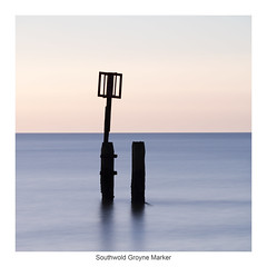 Southwold Groyne Marker (bullboy1983) Tags: dawn sunrise marker sea seaside seascape earlymorning pastel pastelcolours groyne calm serene smooth longexposure nd filter ndfilter peaceful