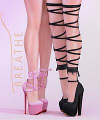[BREATHE]-Keiko & Amari Heels ([Breathe]) Tags: breathe theepiphany secondlife mesh heels