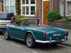 Triumph TR4 1965 nr3499 (Ardy van Driel) Tags: dh1733 car softtop