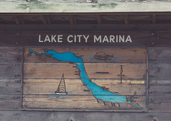 Lake City Marina Sign (Tony Webster) Tags: lakecity lakecitymarina lakepepin minnesota mississippiriver marina sign signage spring unitedstates us