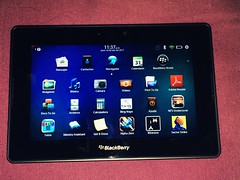 And here it is after a lot of settings and updates, I finally have the Blackberry Playbook. One of those little wishes coming true, since I've never had a Blackberry hardware before. #Blackberry #Playbook (Dreamcasting Life) Tags: blackberry playbook