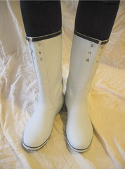 White wellies modified (Lisban2009) Tags: wellies white rubberboots gummistiefel