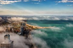 Chicago (jnhPhoto) Tags: jnhphoto chicago chicagoskyline chicagocloudslakemichigancityscape lakemichigan lake lakeshoredrive cityscape city goldcoast