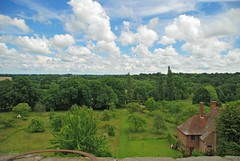 Sissinghurst - The View from the Tower (antonychammond) Tags: sissinghurst landscape sky clouds tower garden sissinghurstcastle nationaltrust vitasackvillewest haroldnicolson nwn thegalaxy contactgroups anticando uk concordians