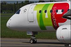 Embraer ERJ-190LR, TAP Express, CS-TPO (OlivierBo35) Tags: nantes nte spotting embraer emb190 tap