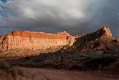 Capitol Reef National Park, Utah, USA (javi.velazquez) Tags: capitol reef utah national park sky sunset overcast