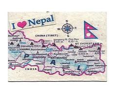 Nepal Map ATC (deseriesanders) Tags: atc map nepal