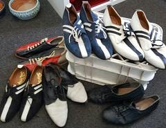 jam shoes! (als3) Tags: shoes jam thejam vintage 1980s mod op art bowling thestylecouncil paulweller