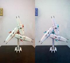 LEGO Shield of Unicorn Gundam (3 units) (demon14082001) Tags: rx0 unicorn gundam shield ifield final battle