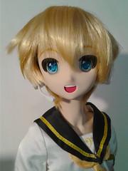 Happy Len- 2 (Sister Kyoya) Tags: len dds boy male volks sister ddh06 vocaloid lenkagamine dollfiedream wencon wenatchee