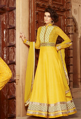 Semi Stitched Yellow Silk And Georgette Anarkali Suit (nikvikonline) Tags: yellow salwarkameez stylish suit shalwar salwar stylishsuits salwarsuit yellowsuit designersuit salwaronline salwarsale saleonline designerwear designercollection designer desinger dailywear designersuits designersalwar