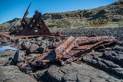 Shipwreck DSC_2453 (BlueberryAsh) Tags: april2017 kittymillerbay lowtide ssspeke shipwreck phillipisland rocky shore beach