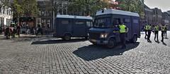 Police Groningen ,Groningen Stad,the Netherlands,Europe (Aheroy) Tags: police politie vismarkt me groningen groningenstad aheroy aheroyal demonstratie demonstration streetshot street polizei riotpolice policia