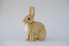 Rabbit (Felix Jaensch) Tags: rabbit lego sculpture animal mammal pet easter