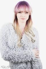 Bella_DSC2952 (Nick Mitha) Tags: hair model headshot fade toning salon shimmer nuance blonde purple