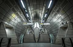 Southwark. (Matt_Briston) Tags: southwark underground tube station london jubilee line way out steps nikon d90 matt cooper