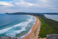 Palm Beach (gsreejith) Tags: palmbeach beach sunset ocean sea sand water lighthouse greenery landscape nsw newsouthwales visitnsw australia ilovensw