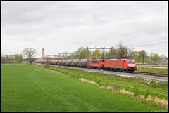 08-04-17 DB Cargo 189 083 + 1614 + Aluminiumoxide-trein, Hengelo Westermaat (Julian de Bondt) Tags: db cargo 189 1600 br189 es64f4 siemens hengelo westermaat