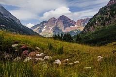 Maroon Bells (My Americana) Tags: maroonbells maroonlake colorado aspen mountain rockymountain rockies elkmountains landscape lake