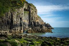 Church Doors Cove (Darryl Hughes) Tags: churchdoorscove pembrokeshire wales cliff sea rocks