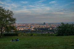Wien (Frank-fotography) Tags: wien europa europe sky clouds city nature view evening lights himmel summer sunset abend natur sommer