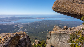 Hobart from kunanyi - [Explored!]