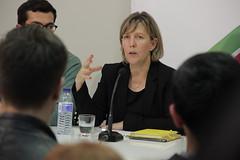 Maria Luís Albuquerque na Conferência da JSD de Odivelas