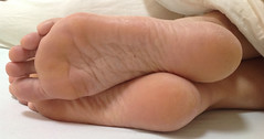 IMG_0425ed2 (thermosome) Tags: foot feet mature soles wrinkled milf