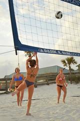 Up and over (radargeek) Tags: volleyball beach okaloosaisland sunset palmtree