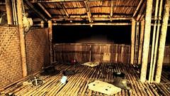 POW Huts (Leonard J Matthews) Tags: pow prisonerofwar hut bamboo ww2 worldwar2 australia warmemorial canberra act mythoto