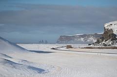 Iceland (richard.mcmanus.) Tags: winter stacks mcmanus reynisdranger landscape vik snow arctic iceland