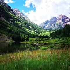 12901335_10154085341671950_4653374927364792906_o (Ashly Edwards Huntington) Tags: ashlyedwardshuntington huntington craterlake aspen colorado mountains green lake view