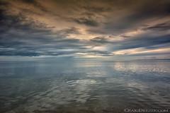 Stillness (Craigdrezek.com) Tags: red connecticut beach sea ocean shore water sky sunset quiet stillness tranquility calming serene nikon 1424f28 28 d7100 nikkor madison hammonassett hammonassettstatepark landscape wow