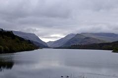 Llanberis in Cloud (Paul Webb.) Tags: llanberis wales lake mountains heartsawards