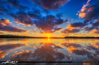 Sunset Lake Worth Lagoon Singer Island Florida