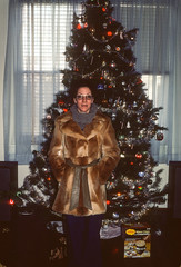 Karen with new coat Christmas Charleston SC December 1977 (1).jpg (buddymedbery) Tags: holidays charleston southcarolina years 1970s family christmas 1977 unitedstates karencrowmedbery