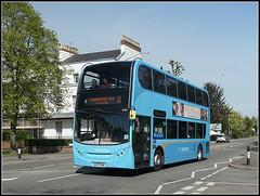 NXC 4775, Kenilworth Road (Jason 87030) Tags: nxc nationalexpresscoventry midlands leamingtonspa royal kenilworthroad blue sky april 2017 alpha a6000 ilce nex tag flickr 11 4775 bv57xkw e400 enviro doubledecker