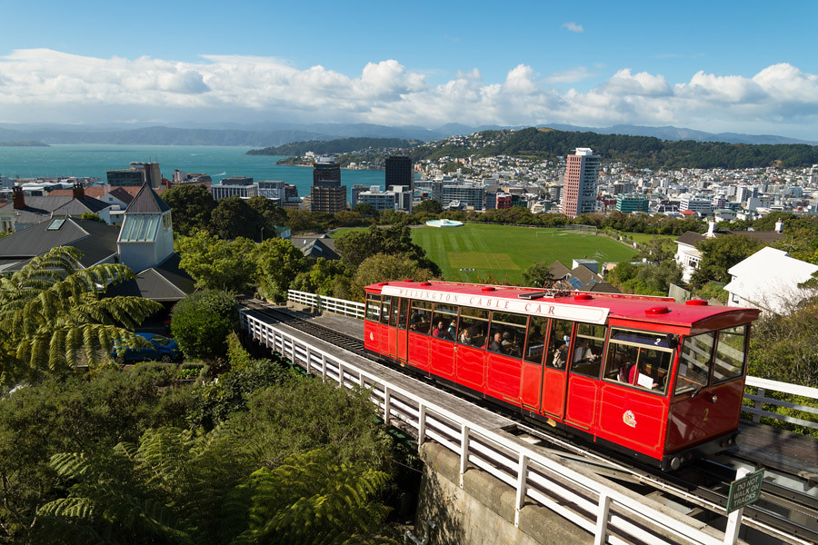 New Zealand's capital Wellington is famous for its flat whites