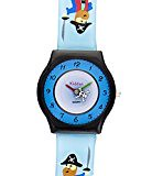 Children's EDUCATIONAL watch boy, with exercises, water resistant (3ATM) PIRATE, in gift box, quality Seiko mechanism, Sony Battery Kiddus KI10103-7 (trolleytrends) Tags: 3atm battery childrens educational exercises gift ki10103 kiddus mechanism pirate quality resistant seiko sony watch water with