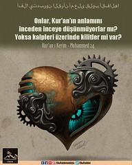 Kerim Kur'an - Muhammed 24 (Oku Rabbinin Adiyla) Tags: allah kuran islam ayet ayetler heart love muslim rahman oku okurabbini god religion bible torah pray prayer