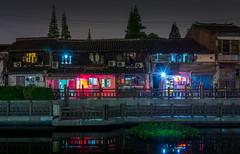 Qibao Nights - Shanghai (Rob-Shanghai) Tags: qibao night china shanghai rx10m2 life living