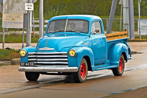 Chevrolet Stepside Pick-Up Truck 1952 (0009)