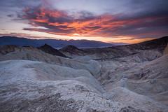 The Colours of Badlands (Vaidas M) Tags: furnacecreek california unitedstates deathvalley goldencanyon sunset nikond800
